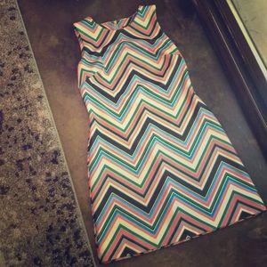 Vibrant Patterned Dress